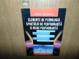 ELEMENTE DE PSIHOLOGIA SPORTULUI DE PERFORMANTA SI MARE PERFORMANTA