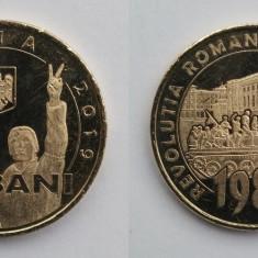 România - 50 bani - 2019 - Revoluția din 1989 - necirculată, din fisic (M0116)