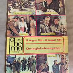 Revista Cinema nr 7 1984