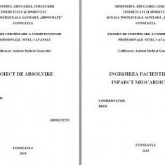 LUCRARE DE LICENTA AMG – INGRIJIREA PACIENTILOR CU INFARCT MIOCARDIC ACUT