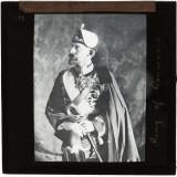 Fotografie / Cliseu pe sticla - Regele Ferdinand I al Romaniei