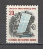 Berlin.1972 Ziua marcii postale  SB.812