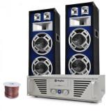 "Electronic-Star DJ-PA set ""Amplificator Bass TiTan"", boxe 2 x 1000W max."
