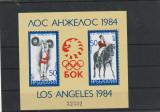 Sport olimpiada Los Angeles 1984,calarie ,haltere ,Bulgaria.