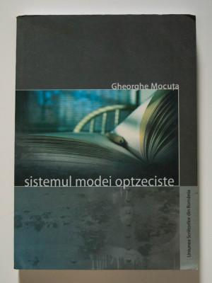 Gheorghe Mocuța - Sistemul modei optzeciste. Primul val foto