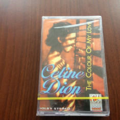 celine dion the colour of my love caseta audio alpha sound muzica pop sigilata