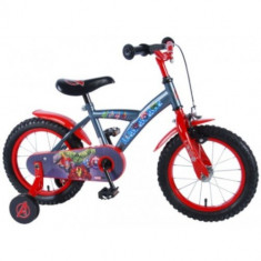 Bicicleta cu Roti Ajutatoare Avengers 14 inch