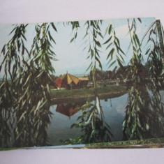 Carte postala - Sfantu Gheorghe (Parcul de agrement), Circulata, Fotografie