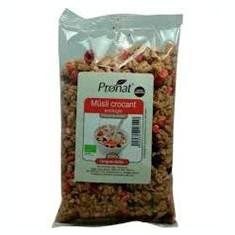 Musli Bio Crocant cu Fructe de Padure Pronat 250gr Cod: PRN840156