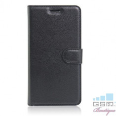 Husa Asus Zenfone 3 ZE552KL Flip Cu Stand Neagra