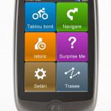Sistem Navigatie GPS Biciclete Mio Cyclo 200 Harta Full Europa, Rezistent la Apa, 3, Toata Europa