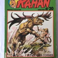 RAHAN, Nouvelle Collection. Bimestriel, no 20, lb. franceza, mars 1981, colectie