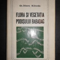 Gh. Dihoru, N. Donita - Flora si vegetatia Podisului Babadag (1970)