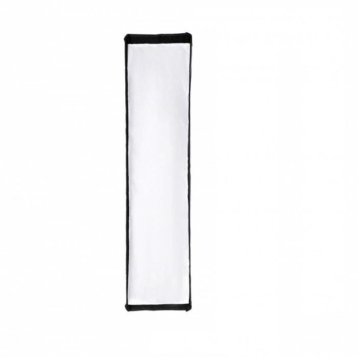 Softbox 22x90cm cu deschidere tip umbrela si montura Bowens