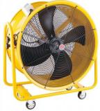Ventilator industrial Intensiv ZEFIR 28, 550 W, 13200 mc/h (Galben)