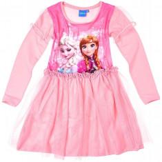 Rochie tulle Disney Frozen roz