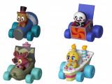 Set 4 x Funko Racers, FNAF - Freddy, Chica, Foxy, Marionette - 6 cm !!