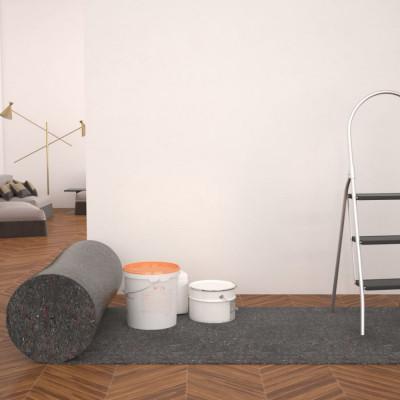Protecție antiderapantă podea zugravi, 2 buc. 50m, 280g/m², gri foto