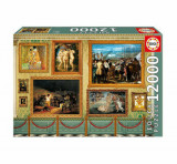 Puzzle Great Works of Art, 12000 piese, Educa