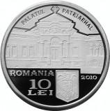 Moneda Argint 10 Lei Patriarhul Miron Cristea