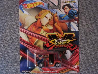 Hot wheels Bread Box Street Fighter 1:64 foto