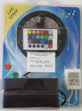 Cumpara ieftin KIT BANDA LED RGB INTERIOR 5M 60W