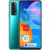 Smartphone Huawei P Smart 2021, Dual Sim, 6.67 Inch, Octa Core, 4 GB RAM, 128 GB Flash, Android 10, 5 Camere, Crush green