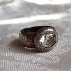 INEL argint SPLENDID de efect VECHI vintage MASIV rar PATINA MINUNATA superb