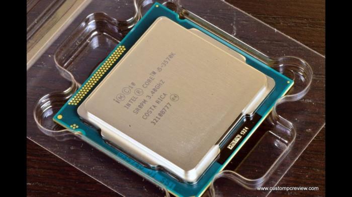 - Procesor Intel Ivy Bridge, Core i5 3570K 3.4GHz-Socket 1155