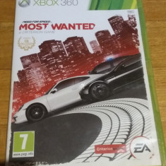 Cumpara ieftin Joc XBOX 360 Need for speed Most Wanted original PAL / by WADDER