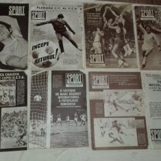 REVISTE SPORT -JIUL PETROSANI, UTA, FC ARGES, GLORIA BUZAU, FCM BRASOV, FC BIHOR