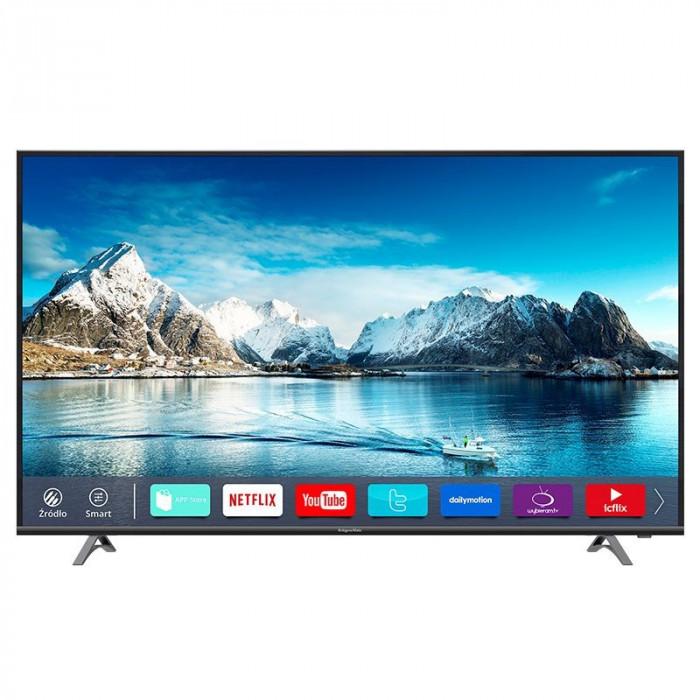 Televizor 4K UltraHD Smart Serie A Kruger & Matz, D-LED, 165 cm