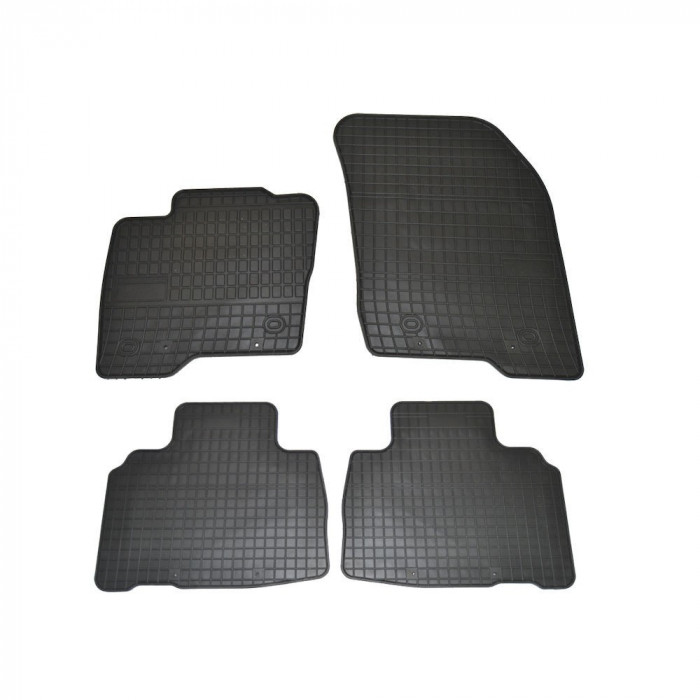 Covorase Ford Edge 2014- culoare Negru, presuri BestAutoVest, 4 buc.