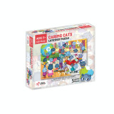 Puzzle cu surprize Lotothot Chalk and Chuckles, 100 piese, 5 ani+