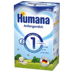 Lapte Praf Humana 1, 600 g