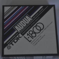 Banda magnetofon TDK Audua L-1800 sigilata