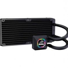 Dual radiator liquid cpu cooler kit AKASA Venom R20 240mm RGB
