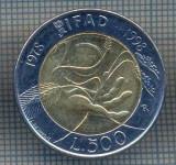 AX 1406 MONEDA -ITALIA-500 LIRE-ANUL1978-1998 IFAD (FAO)-STAREA CE SE VEDE, Europa