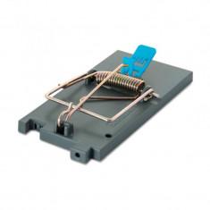 Capcana mecanica rozatoare mici, functie Double Trap, suport momeala