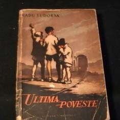 ULTIMA POVESTE-RADU TUDORAN-445 PG-