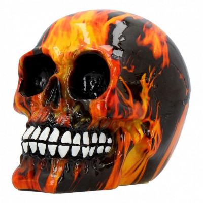 Statueta craniu Infern 11 cm foto