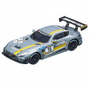 Circuit electric masinute Mercedes AMG si Ferrari 458 Speed'n Race Carrera Go 5,4 m