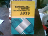 EXPLOATAREA SI TEHNICA TRANSPORTULUI AUTO - T. NAGY