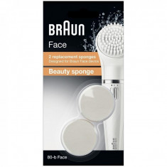 Set rezerve epilator Braun Beauty Sponge, 2 bucati/set