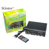 Cumpara ieftin Statie Amplificare Audio 2x25w Intrare Stick USB Card AUX Bluetooth telecomanda