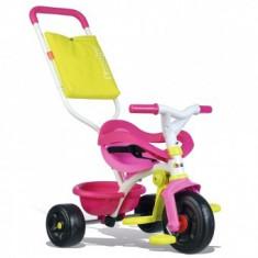 Tricicleta Pentru Copii Smoby Be Fun Confort - Roz