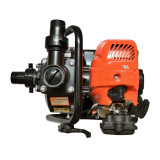 Motopompa Ruris, 1.49 kW, 250 l/min, 15 mc/h, 1.7 CP, benzina, 2 timpi, apa curata, General