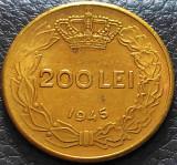 Moneda istorica 200 LEI - ROMANIA REGAT, anul 1945   *cod 5335