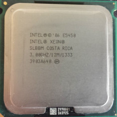 Procesor Xeon E5450 Quad Core 3.0Ghz 12Mb  modat la sk 775 - performante Q9650