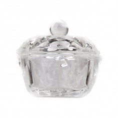 Pahar din Sticla cu Capac